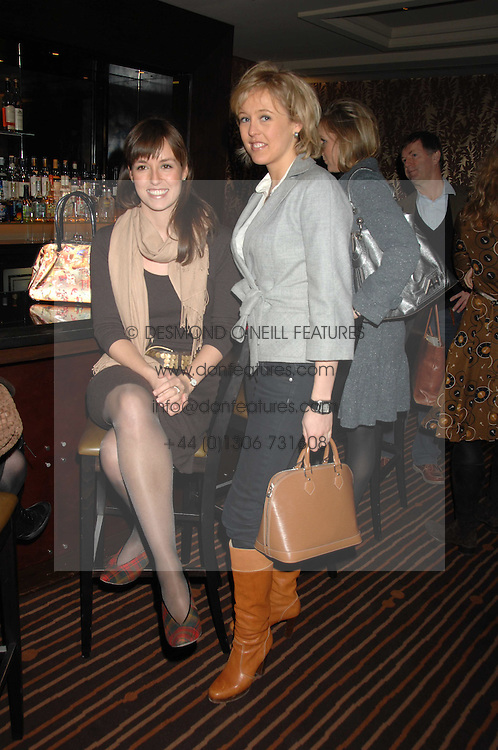Left to right, LADY ROSE INNES-KER and LADY ALEXANDRA SPENCER-CHURCHILL at a lunch hosted by Ralph Lauren to present their Spring 2007 collection in support of the Serpentine Gallery's Education Programme, held at Fifty, 50 St.James's Street, London SW1 on 20th March 2007.<br /><br />NON EXCLUSIVE - WORLD RIGHTS