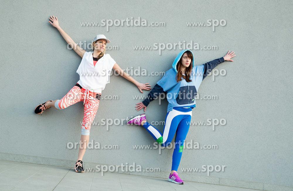 Collection of Adidas by Stella McCartney, on April 9, 2015 in Ljubljana, Slovenia. Photo by Vid Ponikvar / Sportida