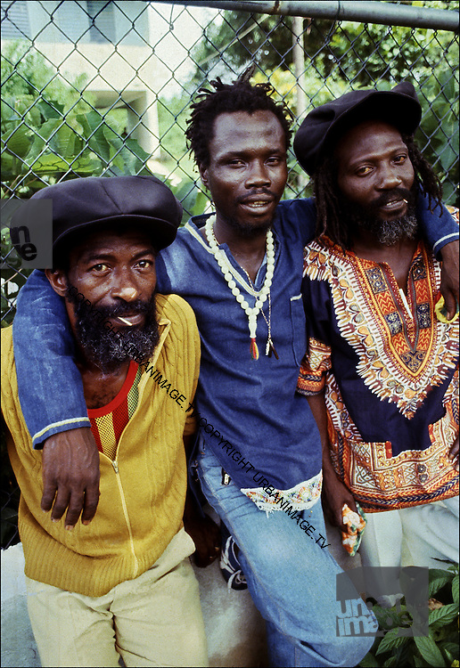 The Abyssinians photosession in Irish Town Jamaica