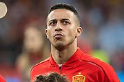 Thiago of Spain during the International friendly game football match between Spain and Argentina on march 27, 2018 at Wanda Metropolitano Stadium in Madrid, Spain - Photo Rudy / Spain ProSportsImages / DPPI / ProSportsImages / DPPI