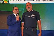 DESCRIZIONE : Monza Vila Reale Italia Basket Hall of Fame<br /> GIOCATORE : Gianluigi Paragone Giampiero Ticchi<br /> SQUADRA : <br /> FIP Federazione Italiana Pallacanestro <br /> EVENTO : Italia Basket Hall of Fame<br /> GARA :<br /> DATA : 29/06/2010<br /> CATEGORIA : Premiazione<br /> SPORT : Pallacanestro <br /> AUTORE : Agenzia Ciamillo-Castoria/M.Gregolin