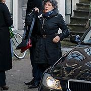 NLD/Amsterdam/20121208 - Herdenkingsdienst voor de verleden Jeroen Willems, Hanneke Groenteman