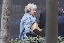 © Licensed to London News Pictures. 16/12/2019. London, UK. Former prime minister Theresa May arrived at Parliament. Parliament will sit tomorrow with newly elected MPs taking their seats ahead of the State Opening of Parliament on Thursday. Photo credit: Peter Macdiarmid/LNP