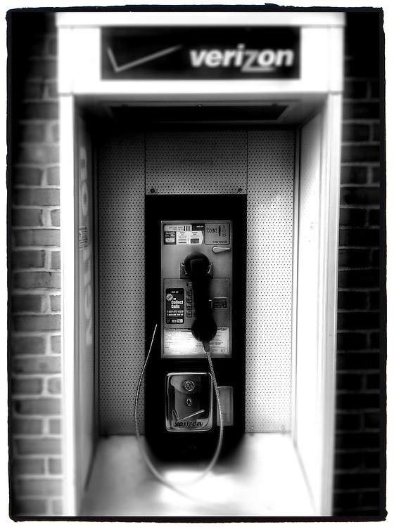 Verizon pay phone at Ohio rest area.