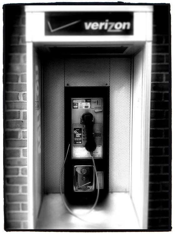 Verizon pay phone at Ohio rest area.