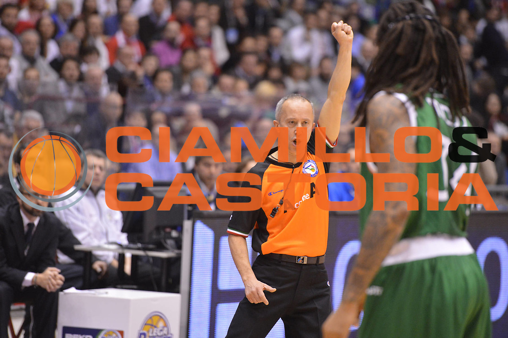 DESCRIZIONE : Milano Coppa Italia Final Eight 2013 Finale Cimberio Varese Montepaschi Siena<br /> GIOCATORE : arbitro<br /> CATEGORIA : ritratto delusione<br /> SQUADRA : <br /> EVENTO : Beko Coppa Italia Final Eight 2013<br /> GARA : Cimberio Varese Montepaschi Siena<br /> DATA : 10/02/2013<br /> SPORT : Pallacanestro<br /> AUTORE : Agenzia Ciamillo-Castoria/GiulioCiamillo<br /> Galleria : Lega Basket Final Eight Coppa Italia 2013<br /> Fotonotizia : Milano Coppa Italia Final Eight 2013 Finale Cimberio Varese Montepaschi Siena<br /> Predefinita :