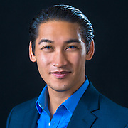 Asian man corporate headshot