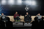 Rio Ferdinand in conversation with Ronaldo and Quaresma - 9 Nov 2016