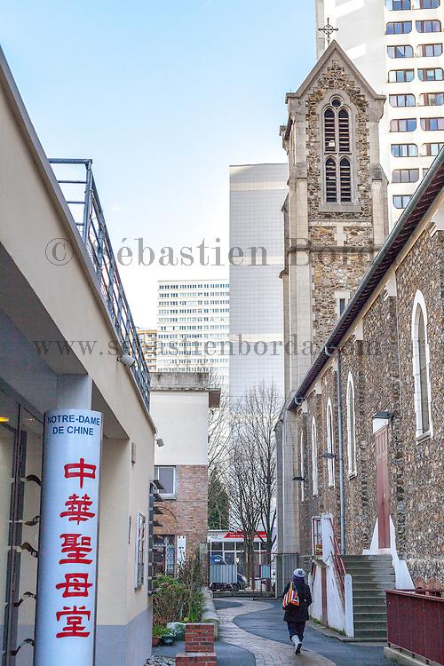 Eglise Notre Dame de Chine // Notre Dame de Chine church