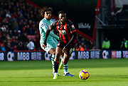 Jefferson Lerma (8) of AFC Bournemouth during the Premier League match between Bournemouth and Arsenal at the Vitality Stadium, Bournemouth, England on 25 November 2018.