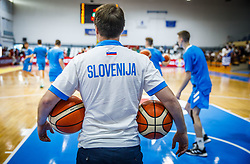 Jurca  Primoz assistant coach of Slovenia prior to rhe basketball match between National teams of Turkey and Slovenia in the SemiFinal of FIBA U18 European Championship 2019, on August 3, 2019 in Nea Ionia Hall, Volos, Greece. Photo by Vid Ponikvar / Sportida