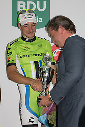 Rhenen, The Netherlands - Dutch Food Valley Classic (UCI 1.1) - 23th August 2013 - The winner Elia VIVIANI (Cannondale Pro Cycling)