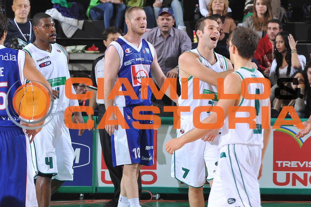 DESCRIZIONE : Treviso Lega A 2011-12 Benetton Treviso Bennet Cantu<br /> GIOCATORE : Sani Becirovic<br /> CATEGORIA :  Esultanza<br /> SQUADRA : Benetton Treviso Bennet Cantu<br /> EVENTO : Campionato Lega A 2011-2012<br /> GARA : Benetton Treviso Bennet Cantu<br /> DATA : 06/11/2011<br /> SPORT : Pallacanestro<br /> AUTORE : Agenzia Ciamillo-Castoria/M.Gregolin<br /> Galleria : Lega Basket A 2011-2012<br /> Fotonotizia :  Treviso Lega A 2011-12 Benetton Treviso Bennet Cantu<br /> Predefinita :