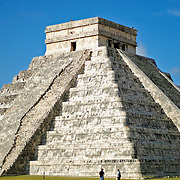 El Castillo (also known as Temple of Kuklcan) at the ancient Mayan ruins at Chichen Itza, Yucatan, Mexico 081216094230_1949x.tif