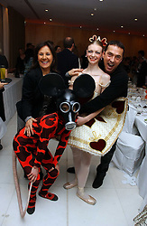 Bruno Tonioli and dancers at the English National Ballet's Mad Hatters Tea Party at St.Martins Lane Hotel, St Martins Lane, London on 12th December 2006.<br />