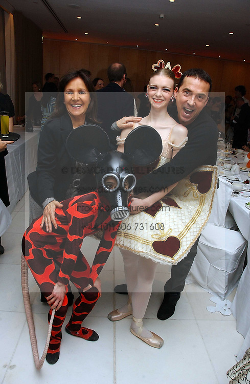 Bruno Tonioli and dancers at the English National Ballet's Mad Hatters Tea Party at St.Martins Lane Hotel, St Martins Lane, London on 12th December 2006.<br /><br />NON EXCLUSIVE - WORLD RIGHTS