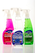 A group of household cleaners taken in a South Bristol studio.