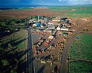 Puunene Sugar Mill, Maui, Hawaii, USA<br />