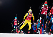 PYEONGCHANG-GUN, SOUTH KOREA - FEBRUARY 20: Mona Brorsson of Sweden during the Biathlon 2x6km Women + 2x7.5km Men Mixed Relay at Alpensia Biathlon Centre on February 20, 2018 in Pyeongchang-gun, South Korea. Foto: Nils Petter Nilsson/Ombrello                    ***BETALBILD***