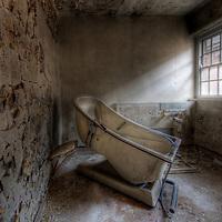A hydro bath at West Park Asylum, Epsom, England
