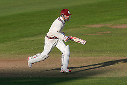 James Hildreth of Somerset in action - Mandatory byline: Rogan Thomson/JMP - 07966 386802 - 22/09/2015 - CRICKET - The County Ground - Taunton, England - Somerset v Warwickshire - Day 1 - LV= County Championship Division One.