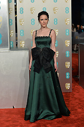 February 11, 2019 - London, New York, United Kingdom of Great Britain and Northern Ireland - Rachel Brosnahan arriving at the EE British Academy Film Awards on at the Royal Albert Hall on February 10 2019 in London, England  (Credit Image: © Famous/Ace Pictures via ZUMA Press)