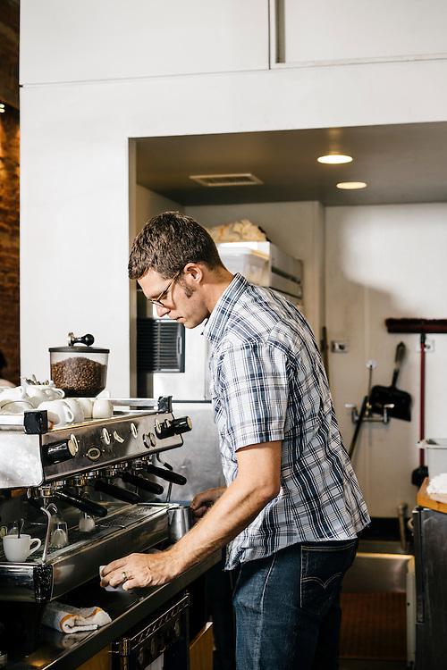 Ryan Jensen, founder Peregrine Espresso