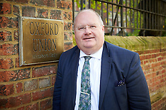 NOV 12 2013 Eric Pickles,Oxford Union,Oxford