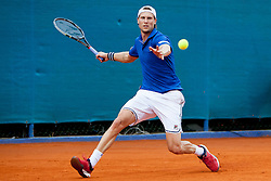 Andreas Seppi of Italy during a tennis match against the Marco Cecchinato of Italy in 1st round of singles at 25th Vegeta Croatia Open Umag, on July 22, 2014, in Stella Maris, Umag, Croatia. Photo by Urban Urbanc / Sportida