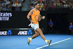 January 24, 2019 - Melbourne, AUSTRALIA - Rafael Nadal (Credit Image: © Panoramic via ZUMA Press)