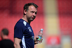 Bristol Rovers assistant manager Marcus Stewart - Mandatory by-line: Alex James/JMP - 21/04/2018 - FOOTBALL - Aesseal New York Stadium - Rotherham, England - Rotherham United v Bristol Rovers - Sky Bet League One