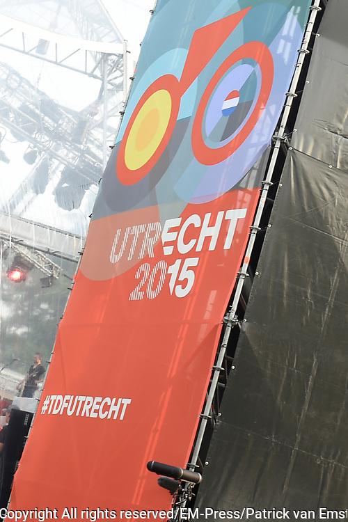 Tour de France winnaars  aanwezig bij de presentatie van de Tour in Utrecht<br /> <br /> Tour de France winners attended the presentation of the Tour in Utrecht<br /> <br /> Op de foto / On the photo: Tour in Utrecht