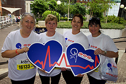 Press Release<br /> Monday, 6th June 2016<br /> Photo caption:<br /> <br /> <br />  Lorraine Ryan, Dolores Feehan, Fiona O Meara and Karen Ryan all from Co. Tipperary warming up for the Women&rsquo;s Mini Marathon which they ran in aid of CRY (Cardiac Risk in the Young) . CRY is an Irish charity that offers free screening and support to those who have lost loved ones to SADS (Sudden Adult Death Syndrome). Money raised by supporters at the mini marathon will go towards the free service provided at the CRYP Centre in Tallaght Hospital. www.cry.ie.<br /> <br /> Team CRY Ireland join together to support and raise funds for those effected by SADS (Sudden Adult Death Syndrome) <br /> <br /> Team CRY Ireland (Cardiac Risk in the Young) the charity which supports families affected by SADS (Sudden Adult Death Syndrome) welcomed all runners and walkers, from families and friends affected by SADS to members of the public who simply wanted to help and &lsquo;run for CRY&rsquo;s sake&rsquo; at today&rsquo;s VHI Mini Marathon.<br /> <br /> Among the runners for CRY was Clare Scanlan, a popular leader on Operation Transformation 2016, who lost her son Darra aged 16 in 2011 and knows first-hand the work CRY Ireland do, speaking about CRY and the mini marathon today Clare said, &ldquo;The mini marathon is great fun each year and a great way to keep fit. The money raised for CRY Ireland today will go directly towards helping families like me who have a family member due to SADS. The charity offers support and free screening to families and really relies on donations and fundraising to keep operating. It is a small charity that helps so many people and I am so proud to be here to raise awareness for SADS and CRY. So many families are affected by SADS each year and need all the support they can get.&rdquo;<br /> <br /> As the charity&rsquo;s biggest fundraiser, monies raised from today&rsquo;s mini marathon will be used to fund the activities of the Centre for Cardiac Risk in Younger Persons (CRYP) in Tallaght Hospital which provides comprehensive cardiac evaluation of those who may be at risk fro