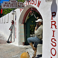 Her Majesty's Prison in Cockburn Town, Grand Turk, Turks and Caicos Islands<br />
