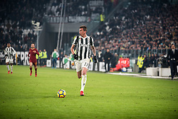 December 23, 2017 - Turin, Piemonte/Torino, Italy - Mario Mandzukic (Juventus FC) during the football match Serie A: Juventus FC vs AS Roma. Juventus won 1-0 at Allianz Stadium in Turin, Italy 23th december 2017. (Credit Image: © Alberto Gandolfo/Pacific Press via ZUMA Wire)