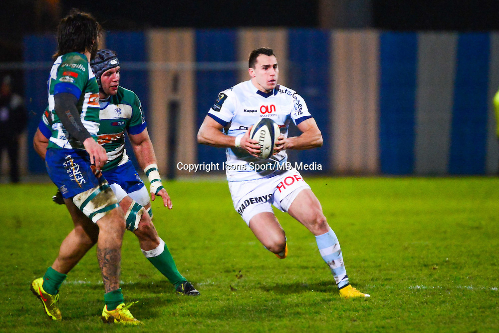 Juan IMHOFF  - 18.01.2015 - Racing Metro 92 / Trevise - European Champions Cup<br /> Photo : Dave Winter / Icon Sport
