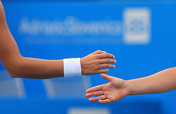 Tennis - Doubles, on July 23, 2008, Portoroz - Portorose, Slovenia. (Photo by Vid Ponikvar / Sportal Images)...