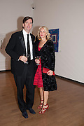 KARL PETERSON; HOLLY PETERSON, Royal Academy Schools Annual dinner and Auction 2012. Royal Academy. Burlington Gdns. London. 20 March 2012.