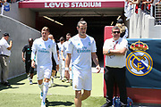 Real Madrid Midfielder Gareth Bale was out to the pitch during the AON Tour 2017 match between Real Madrid and Manchester United at the Levi's Stadium, Santa Clara, USA on 23 July 2017.