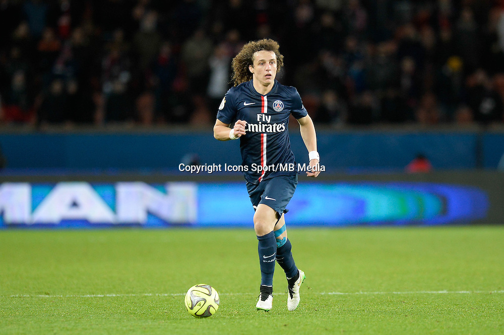 David LUIZ - 20.12.2014 - Paris Saint Germain / Montpellier - 17eme journee de Ligue 1 -<br />