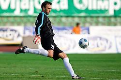 Dragan Zilic of Gorica at football match between NK Olimpija vs Hit Gorica in 11th Round of Prva liga 2009 - 2010,  on September 27, 2009, in ZSD Ljubljana, Ljubljana, Slovenia.  (Photo by Vid Ponikvar / Sportida)