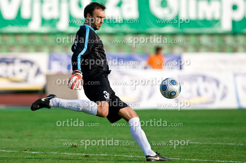 Dragan Zilic of Gorica at football match between NK Olimpija vs Hit Gorica in 11th Round of Prva liga 2009 - 2010,  on September 27, 2009, in ZSD Ljubljana, Ljubljana, Slovenia.  (Photo by Vid Ponikvar / Sportida)