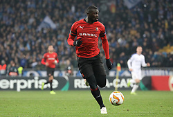 November 8, 2018 - Kiev, Ukraine - Rennes's Niang controls the ball during the Europa League match between Dynamo Kiev and Rennes at the Olympic Stadium in Kiev. Ukraine, Thursday, November 8, 2018  (Credit Image: © Danil Shamkin/NurPhoto via ZUMA Press)
