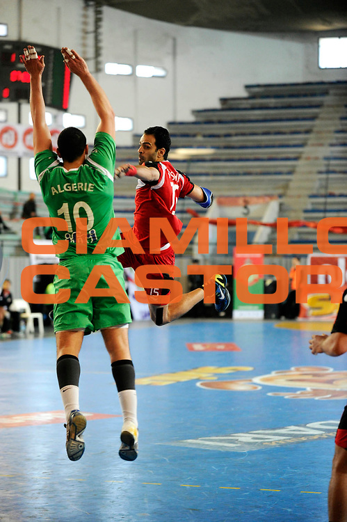 DESCRIZIONE : France Hand Coupe Afrique des Nations Homme Maroc Rabat<br /> GIOCATORE : Ibrahim Aly Mohamed<br /> SQUADRA : Egypte<br /> EVENTO : FRANCE Hand CAN<br /> GARA : Algerie Egypte<br /> DATA :19/01/2012<br /> CATEGORIA : Hand CAN<br /> SPORT : Handball<br /> AUTORE : JF Molliere <br /> Galleria : France Hand 2011-2012 Action<br /> Fotonotizia : CAN Hand RABAT Maroc<br /> Predefinita :