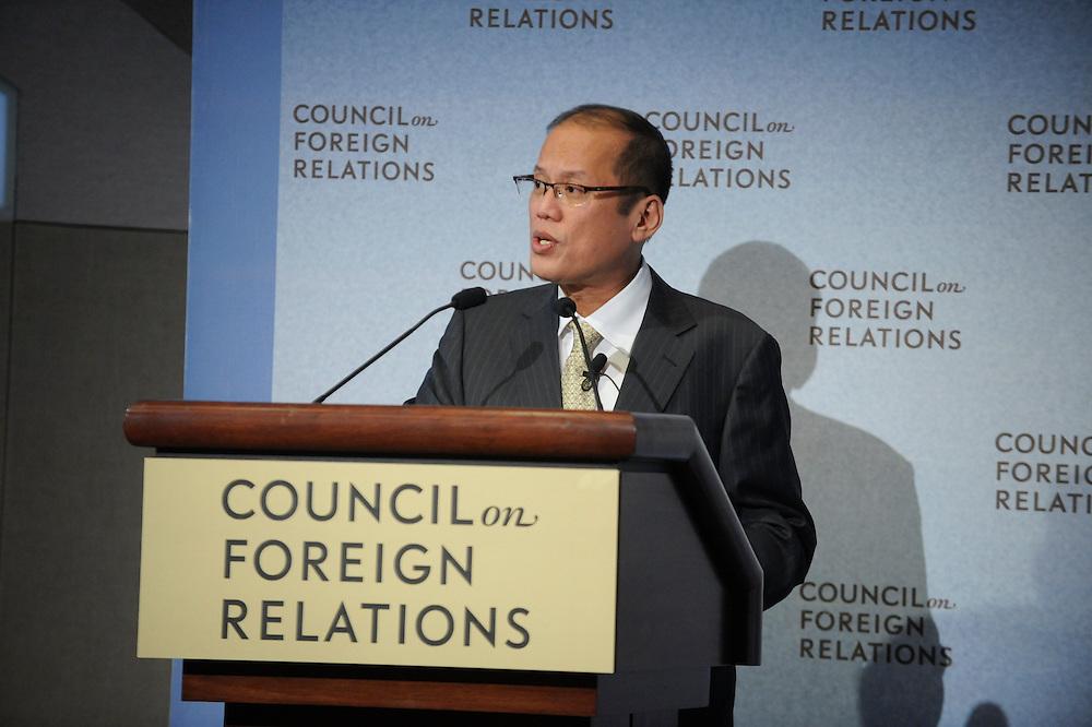Benigno Aquino III.President Republic of the Phitippines..David Bradley.