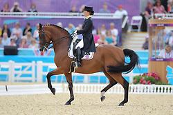 Truppa, Valentina, Eremo del Castegno<br /> London - Olympische Spiele 2012<br /> <br /> Dressur Grand Prix de Dressage<br /> © www.sportfotos-lafrentz.de/Stefan Lafrentz