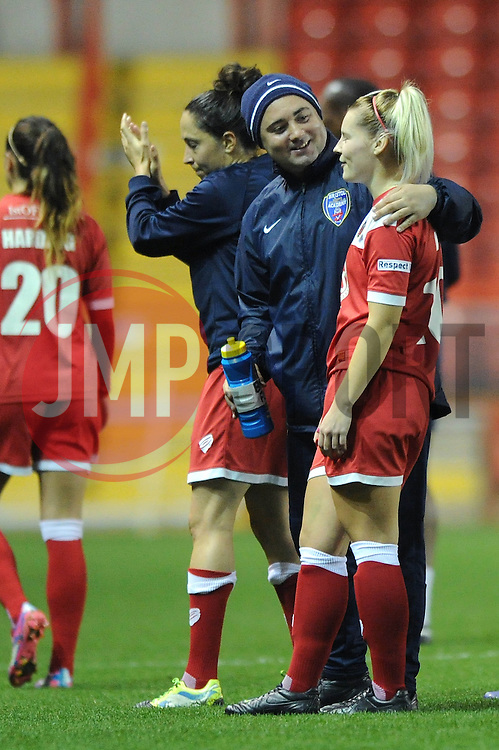 Bristol Academy Womens' Nicola Watts  - Photo mandatory by-line: Dougie Allward/JMP - Mobile: 07966 386802 - 16/10/2014 - SPORT - Football - Bristol - Ashton Gate - Bristol Academy v Raheny United - Women's Champions League