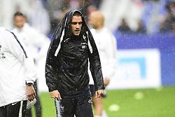 May 28, 2018 - St Denis, France, France - echauffement de l equipe de France sous la pluie.Antoine Griezmann  (Credit Image: © Panoramic via ZUMA Press)