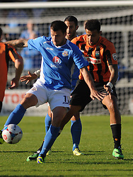 Eastleighs Craig McAllister, Barnet v Eastleigh, Vanarama Conference, Saturday 4th October 2014