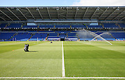 General View of the Cardiff City Stadium, before the EFL Sky Bet Championship match between Cardiff City and Leeds United at the Cardiff City Stadium, Cardiff, Wales on 17 September 2016. Photo by Andrew Lewis.